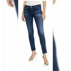 AG Prima Mid-Rise Cigarette Skinny Jean 29R EUC